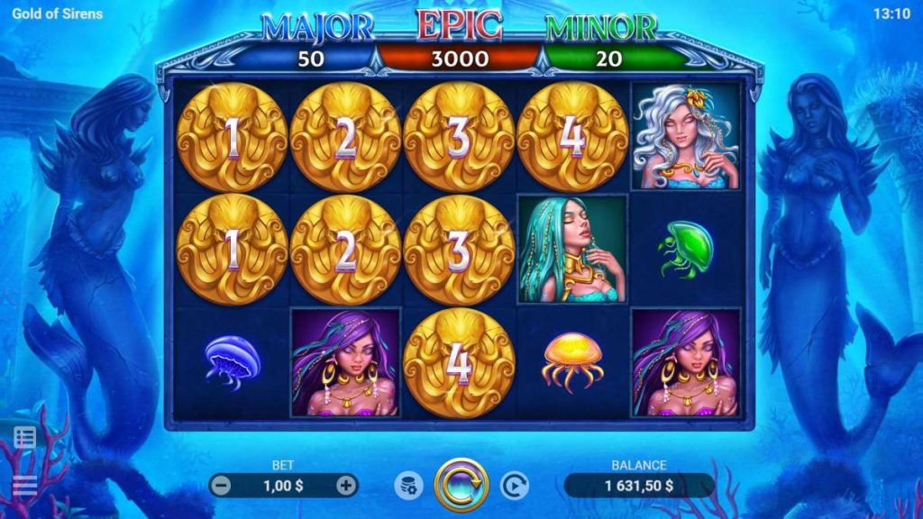 Gold Of Sirens Slot-พนัน
